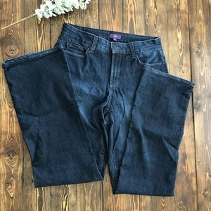 Jeans - Not Your Daughters Jeans Dark Wash - Size 6